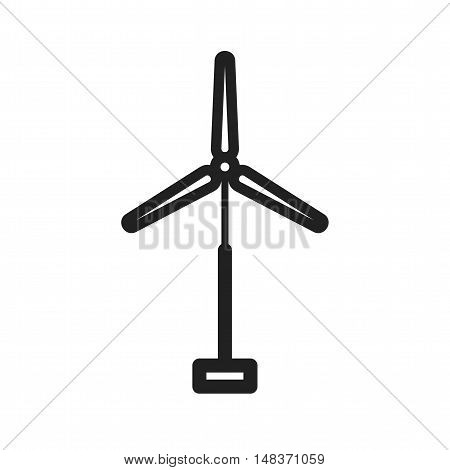 Windmill, wind, turbine icon vector image. Can also be used for industrial process. Suitable for mobile apps, web apps and print media.