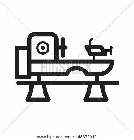 Engineering, machine, manufacturing icon vector image. Can also be used for Industrial Process. Suitable for mobile apps, web apps and print media.