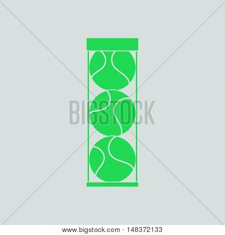 Tennis Ball Container Icon