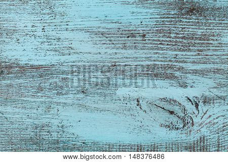 Blue wood texture for vintage wooden background or wallpaper.