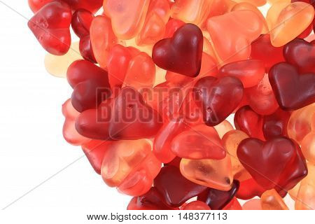 Jelly Candy Hearts Love Texture
