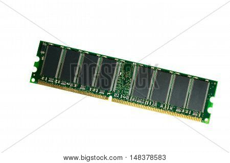 computer parts. Operative memory on a white background