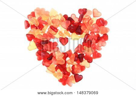 Jelly Candy Hearts As Big Heart
