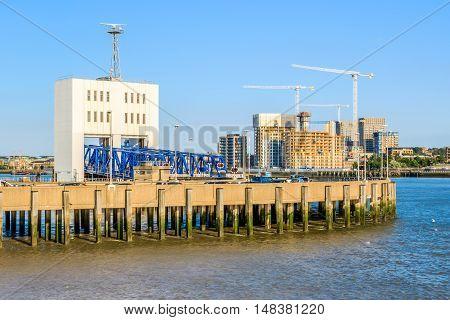 Woolwich Ferry In East London