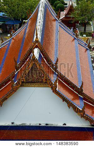 Asia  Thailand    Bangkok Sunny  Temple Plant