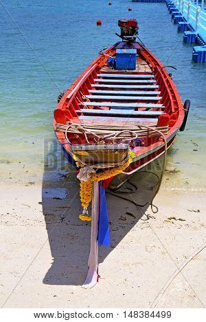 Boat  Blue Lagoon   Stone  Thailand Kho     South China Sea