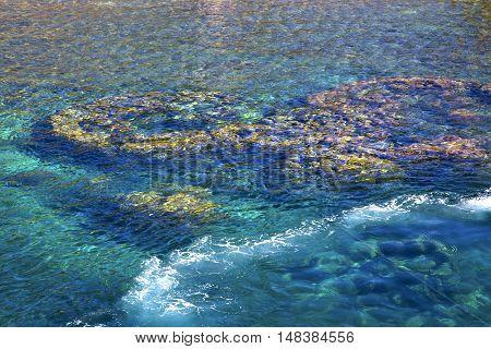 Blue Lagoon    Bay Abstract Of  Water     South China Sea