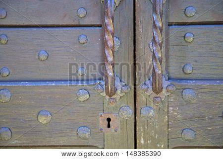 Abstract  House  Door      Italy  Lombardy           Closed  Nail