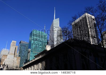 Skyscrapers In Manhattan
