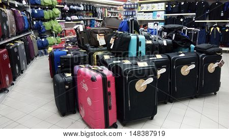 Travel Luggage Sold In Store In Singapore