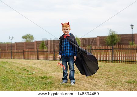Happy halloween boy