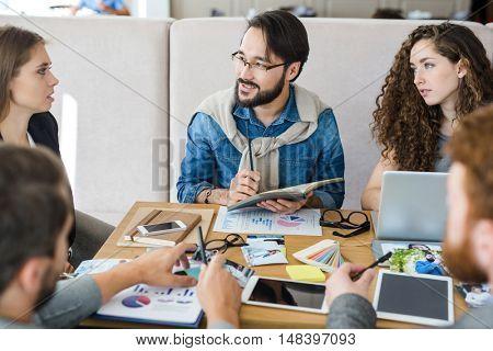 Meeting of designers