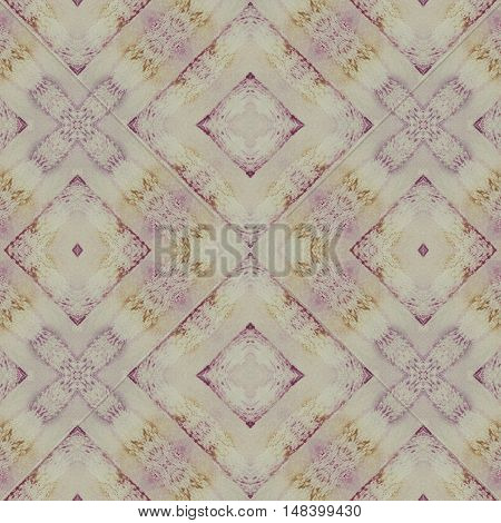 Hand drawn watercolor colorful pattern background for scrapbook top view. Collage with mirror reflection. Seamless kaleidoscope montage for cushion blanket pillow plaid tablecloth cloth bed