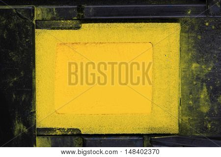Yellow Toner Powder