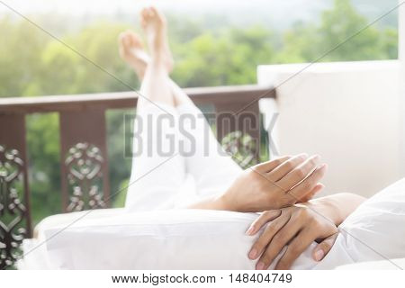 Relaxing Concept.