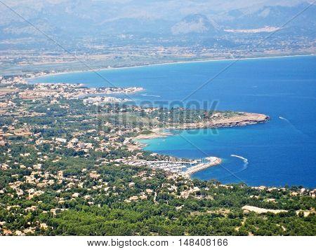 Coast Near Alcudia, Majorca, Spain