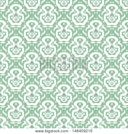 Vintage abstract seamless pattern. Template for design
