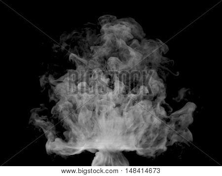 Illustration Of Grey Smoke