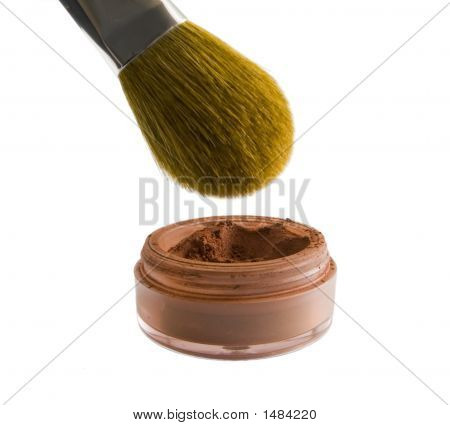 Makeup Brush And Blush
