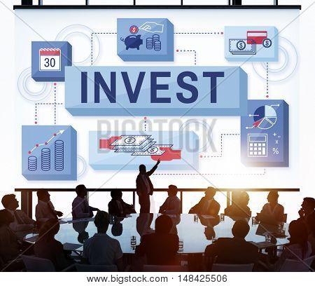 Invest Economy Budget Investment Profit Revenue Concept