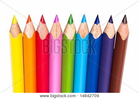 Color Pencil Row