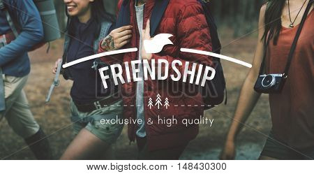 Friendship Friends Forever Togetherness Connection Concept