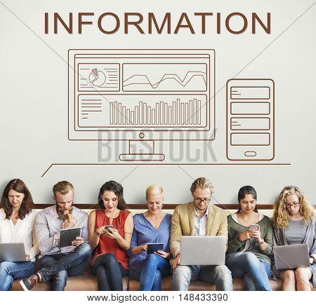 Information Progress Summary Analytics Computer Concept