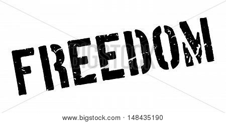 Freedom Rubber Stamp