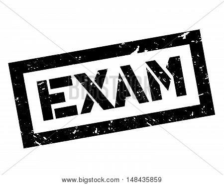 Exam Rubber Stamp