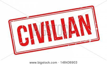 Civilian Rubber Stamp