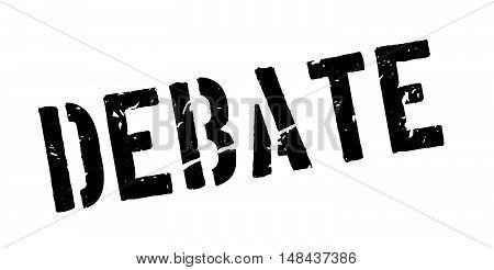 Debate Rubber Stamp
