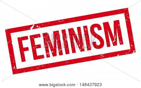 Feminism Rubber Stamp