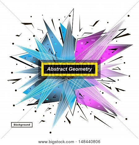 Abstract Model. Minimalistic Fashion Backdrop Design. Patch Space Star Icon. Explosion Light Font Te