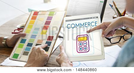 Saving Trade Account Commerce Concept