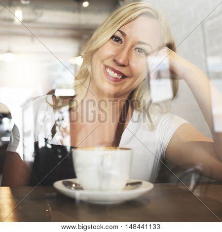Serving Service Staff Customer Service Cafe Concept