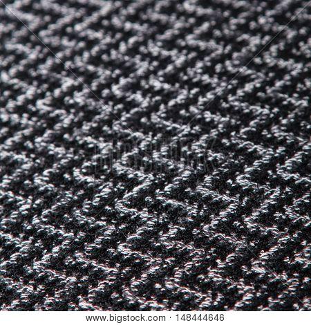 black and white herringbone fabric for background