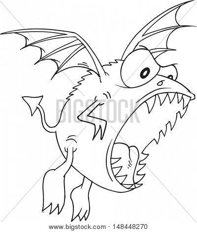 Alien Monster Doodle Vector Illustration Art