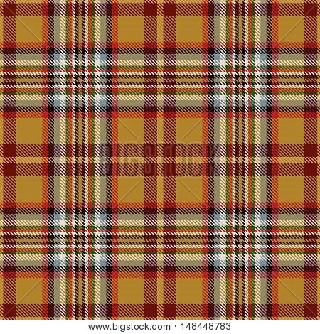 Scottish tartan seamless pattern. Trendy illustration for wallpapers. Tartan plaid inspired background. Suits for decorative paper fashion design and house interior design as well as for hand crafts and DIY.