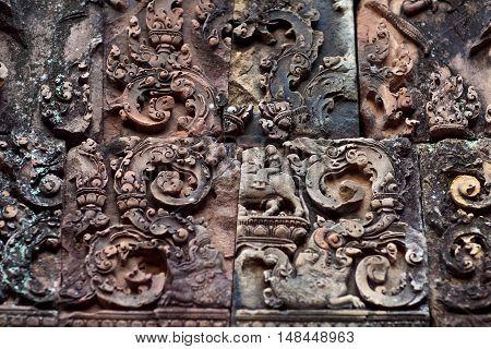 Banteay Srey Temple, Cambodia