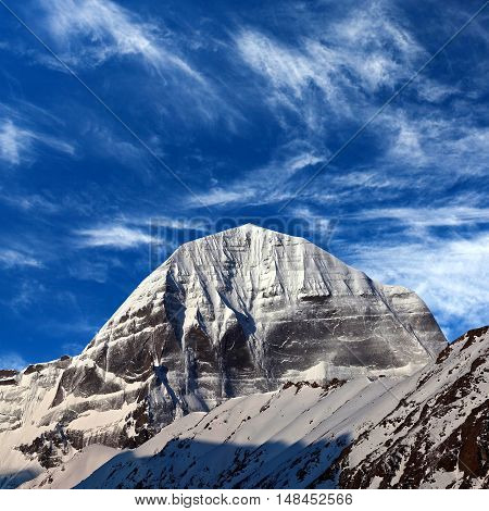 Sacred Mount Kailash, Which Are Part Of The Transhimalaya In Tibet