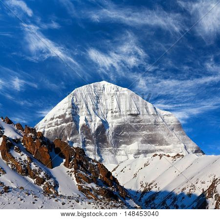Sacred Mount Kailash In Tibet