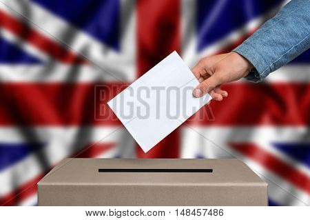 Election In Great Britain - Voting At The Ballot Box