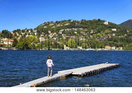 Como Lake, Italy, Europe