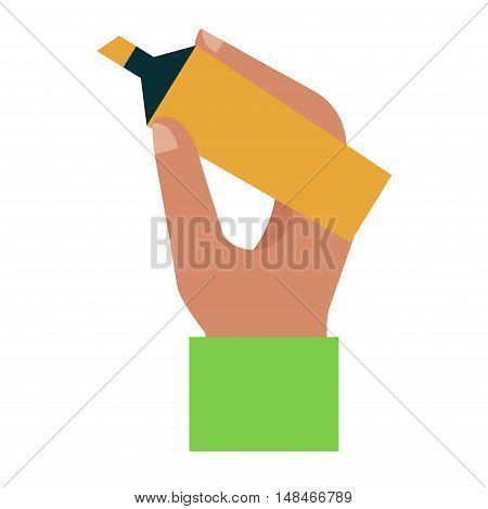 People hand holding marker creativity space. Person drawing write idea hand marker human business pen concept. Sketch presentation school hand marker message handwriting plan.