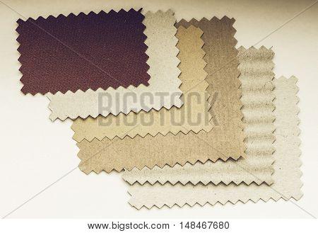 Vintage Looking Paper Swatch