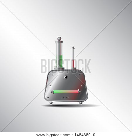 mysterious device, vector illustration for web design and printing
