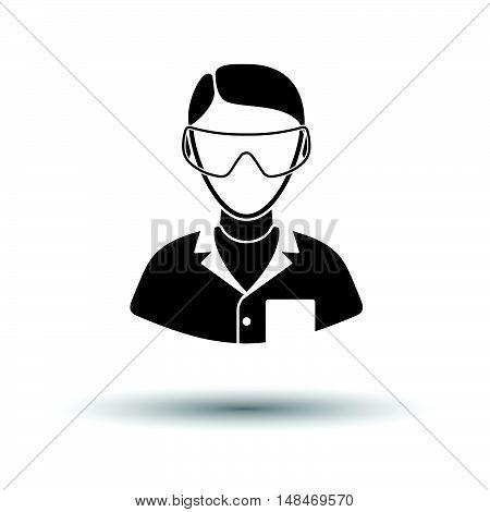 Icon Of Chemist In Eyewear