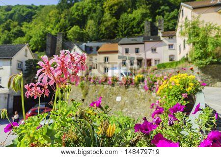 Beautiful Country Side Scene Of Vianden