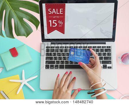 Sale Commerce Deal Discount Promotion Concept