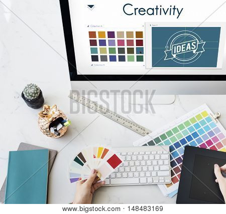 Creativity Inspiration Design Logo Concept
